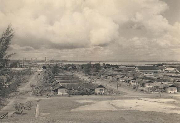 Kawasan Parikesit 1950 TempatnyaStadion Persiba Balikpapan Sekarang