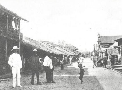 Salah Satu Kawasan Kota Balikpapan 1908