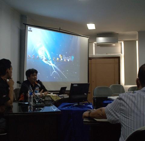 Presentasi di Hadapan PT. (Persero) Jasa Raharja