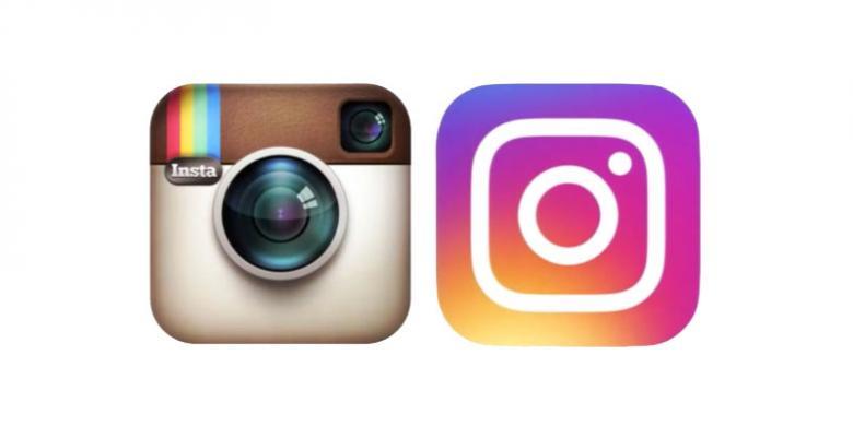 Perubahan logo Instagaram. Instagram.com
