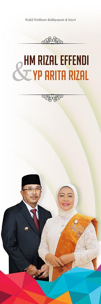 Rizal Effendi dan Arita Effendi