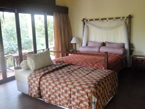 Kamar di Samboja Lodge (Afif/detikTravel)