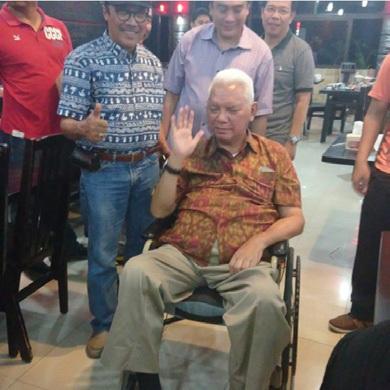 Kunjungan Gubernur Kaltim Awang Faroek Ishak