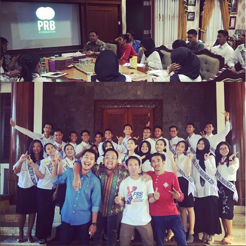 RANGKUL SEMUA : Tim akun @Balikpapanku aktif di banyak kegiatan sosial maupun pemerintahan.