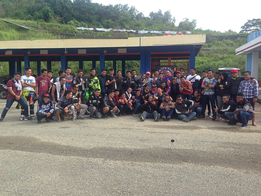 Acara Fun Race di Kalan SMD