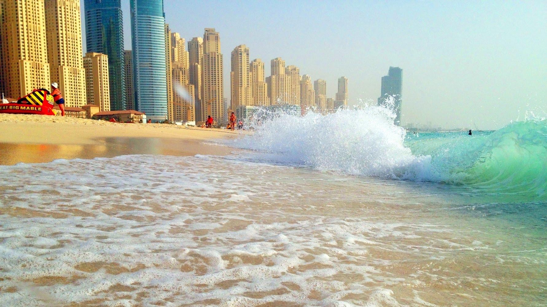 Dubai Marine Beach.
