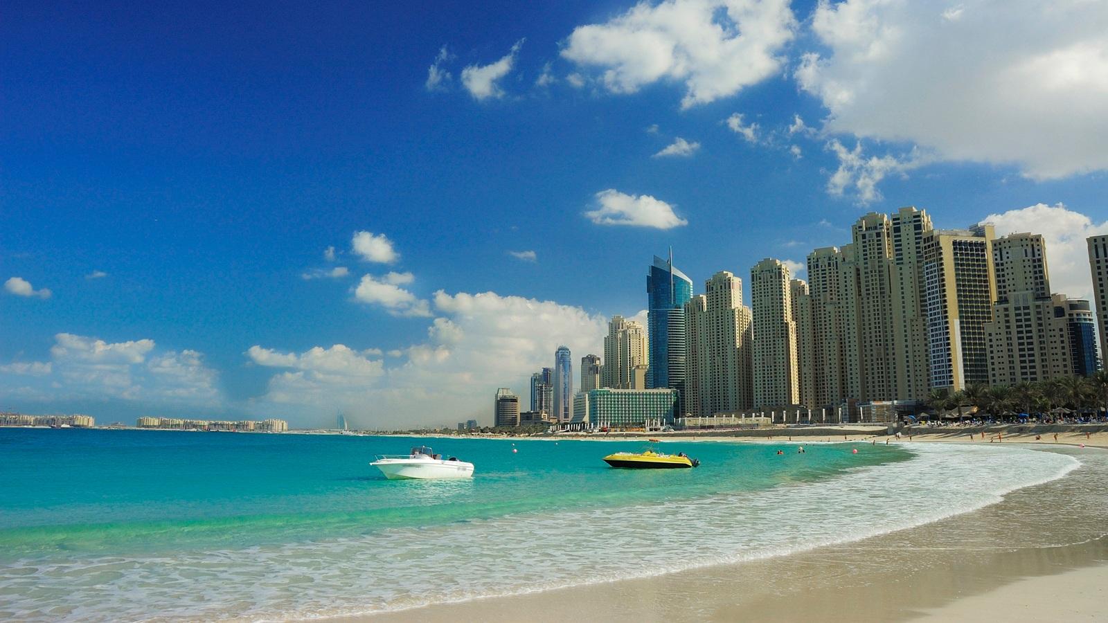 Pantai Jumeirah.