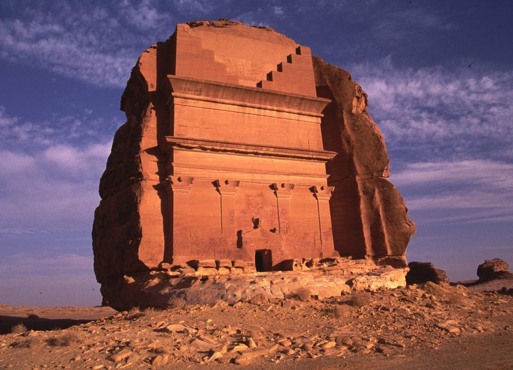 KESEPIAN: Satu-satunya kastil yang ditemui di padang pasir di kawasan Arab Saudi, Qasr Al Farid.