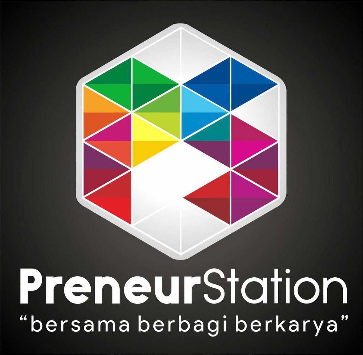 KESEPAKATAN BERSAMA: Inilah desain yang dipilih menjadi logo Preneur Station.